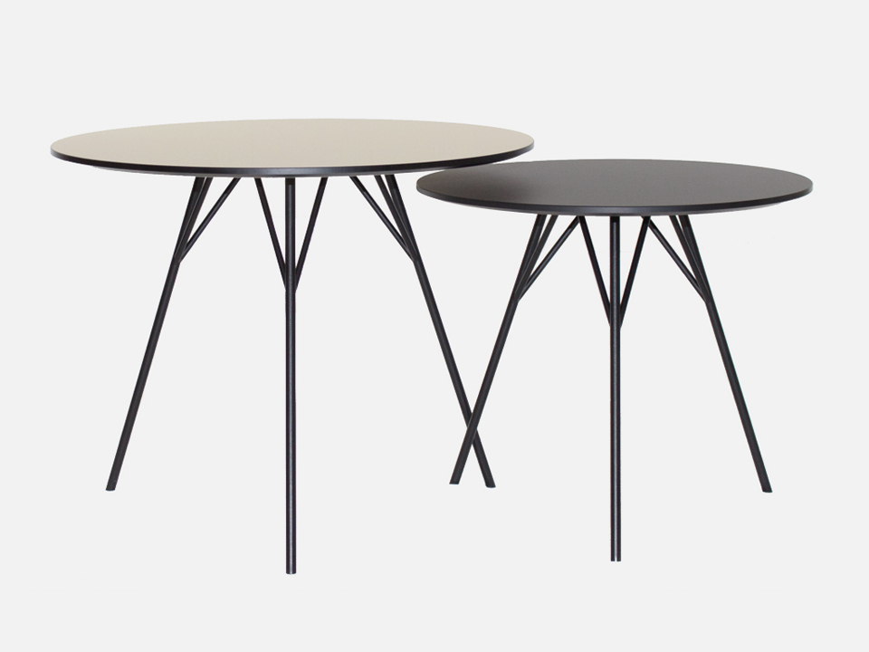SOFABORD - SPACE TABLE sæt af 2 borde ZERO®